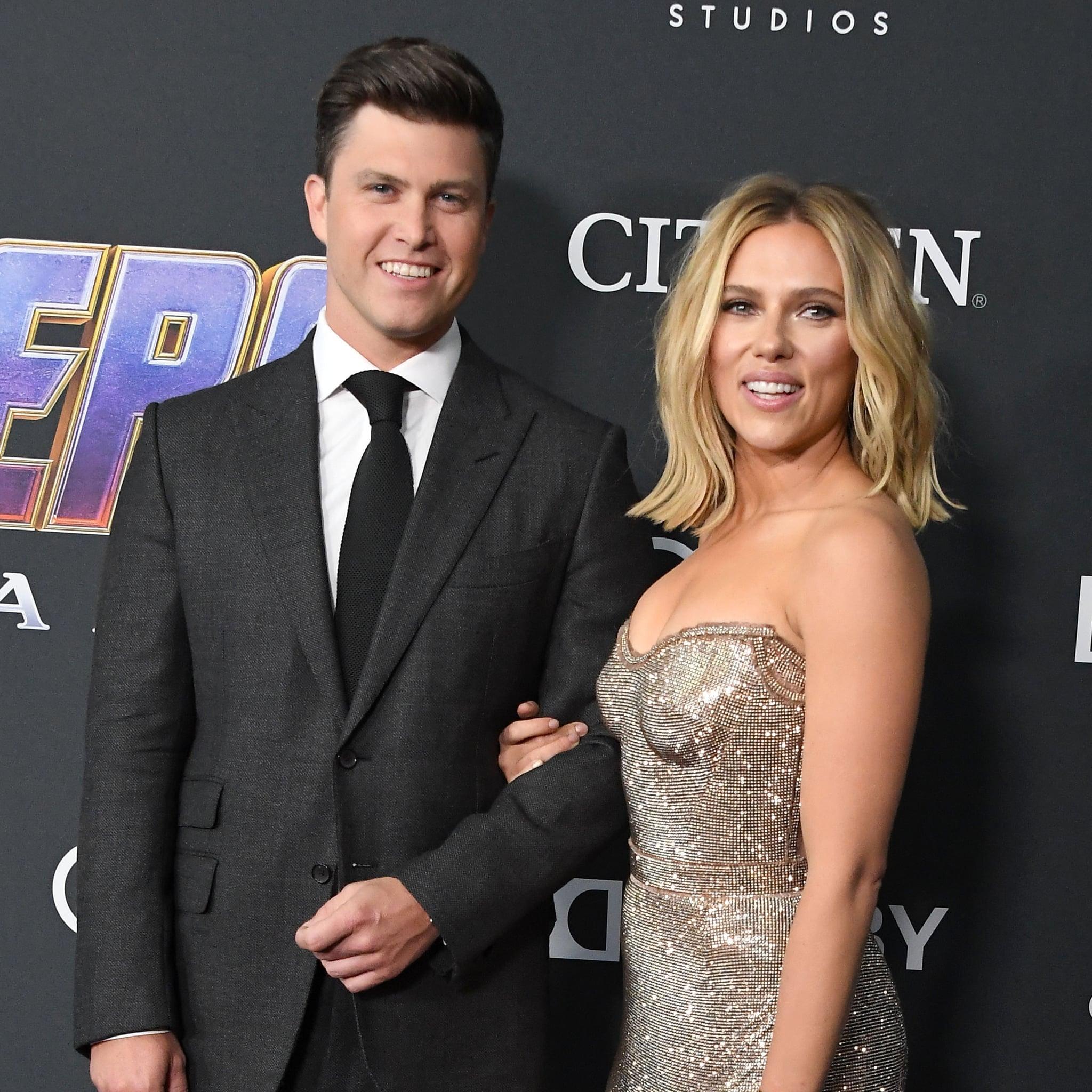Scarlett Johansson And Colin Jost Engaged Popsugar Celebrity