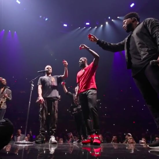 LeBron James Surprises Justin Timberlake During His Concert