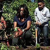 When She Made the White House Kitchen Garden a Permanent Space