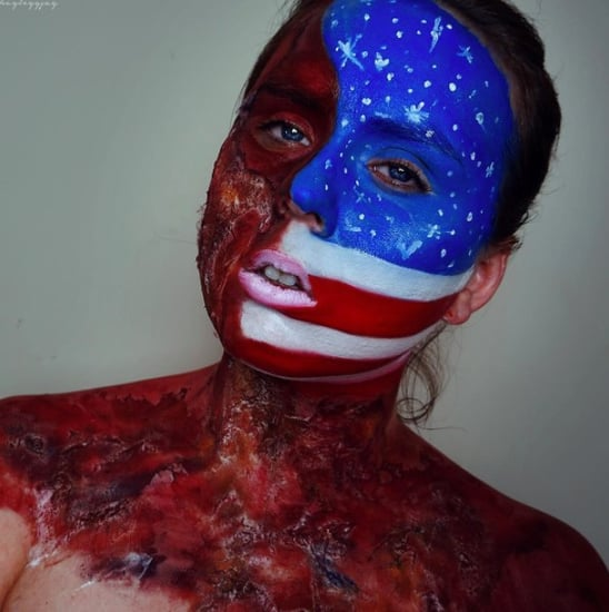 Political Makeup Video by Hayley Johnsen