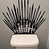 Game of Thrones Parody Inspired Toilet Decal