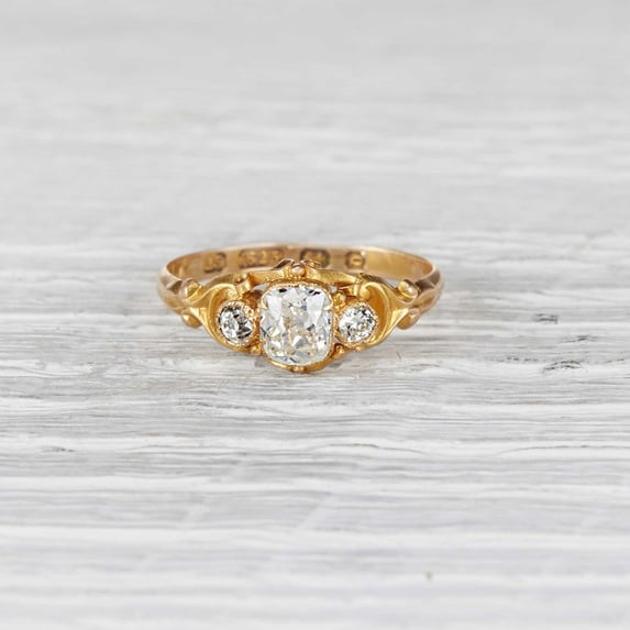 Erstwhile Jewelry Victorian engagement ring ($4,500)