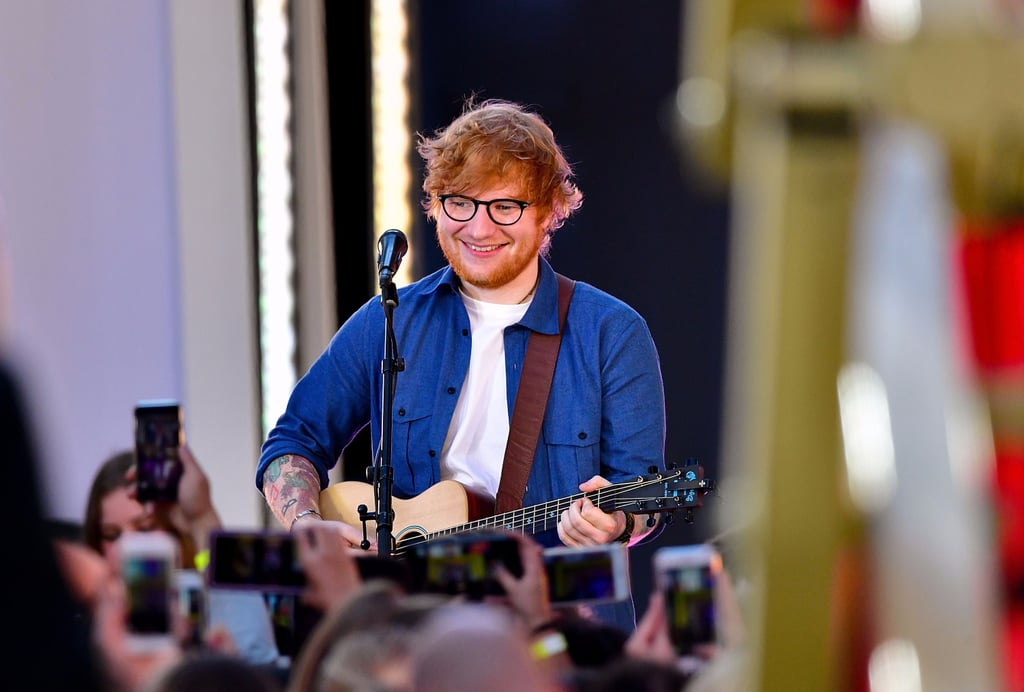 gifts for ed sheeran fans popsugar celebrity. Black Bedroom Furniture Sets. Home Design Ideas