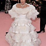 Joan Collins at the 2019 Met Gala