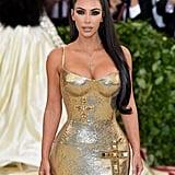 Kim Kardashian at the 2018 Met Gala