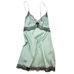 Myla Silk and Lace Chemise ($190)
