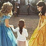 When Sarah Michelle starred in an pic princess rap battle in March 2015, Charlotte got to meet the princesses. (And she later did a rap of her own!)