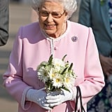 Queen Elizabeth II at the Chelsea Flower Show 2018