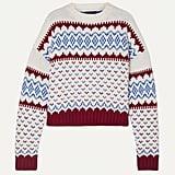 Alanui Fair Isle Wool And Cashmere-Blend Sweater