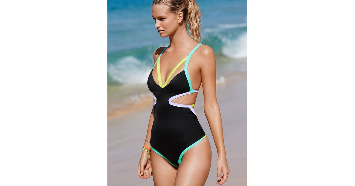 13b66e19bc Victoria's Secret Beach Sexy Cut-out One-Piece | The Most Flattering  Swimsuits | POPSUGAR Fashion Photo 14