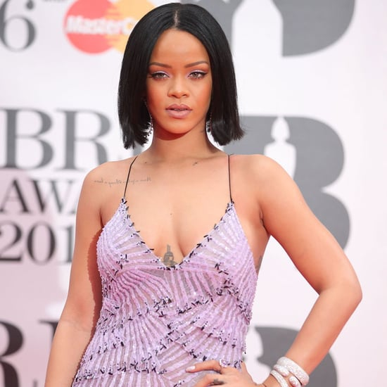 Rihanna at the Brit Awards 2016