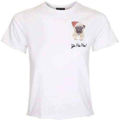 Pug Pocket T-Shirt ($30)