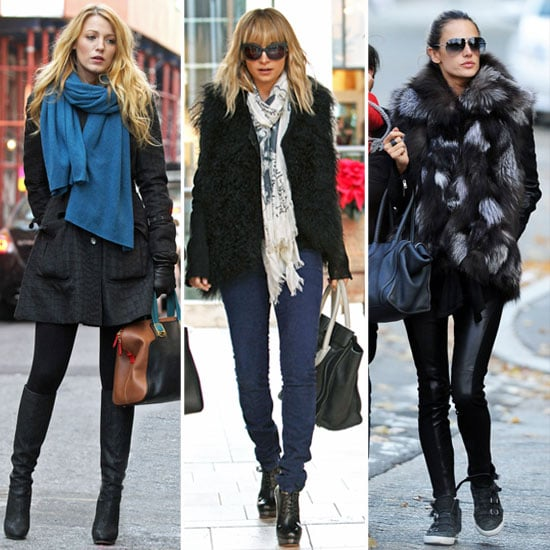 Celebrities Winter Style 2011 Popsugar Fashion