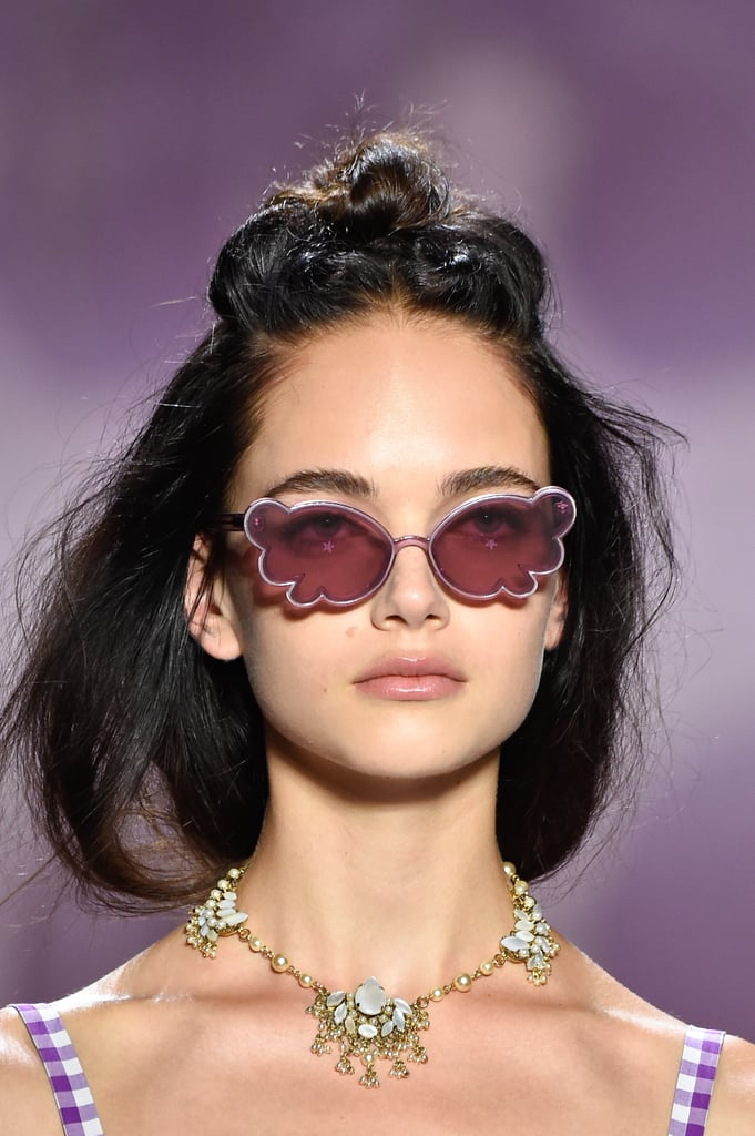 Sunglasses on the Anna Sui Runway at New York Fashion Week