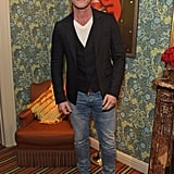 Luke Evans at the Victoria Beckham x YouTube Party