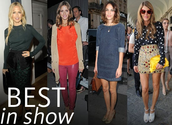 Best Dressed Celebrities Front Row at Fashion Week in New York, Paris, London & Milan: Alexa Chung, Olivia Palermo - who else?