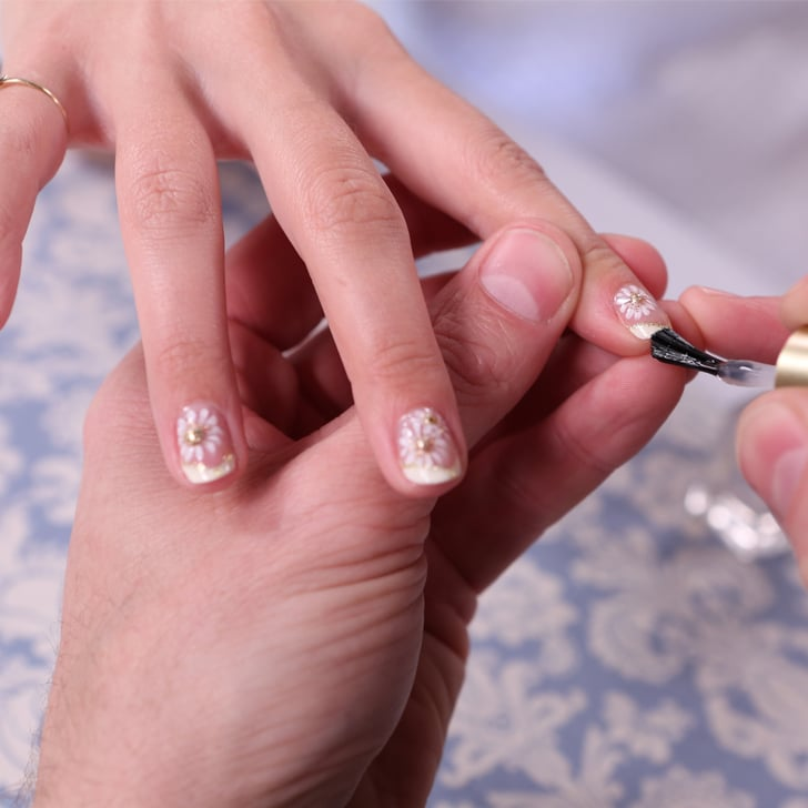 A Different Take on a Bridal Manicure