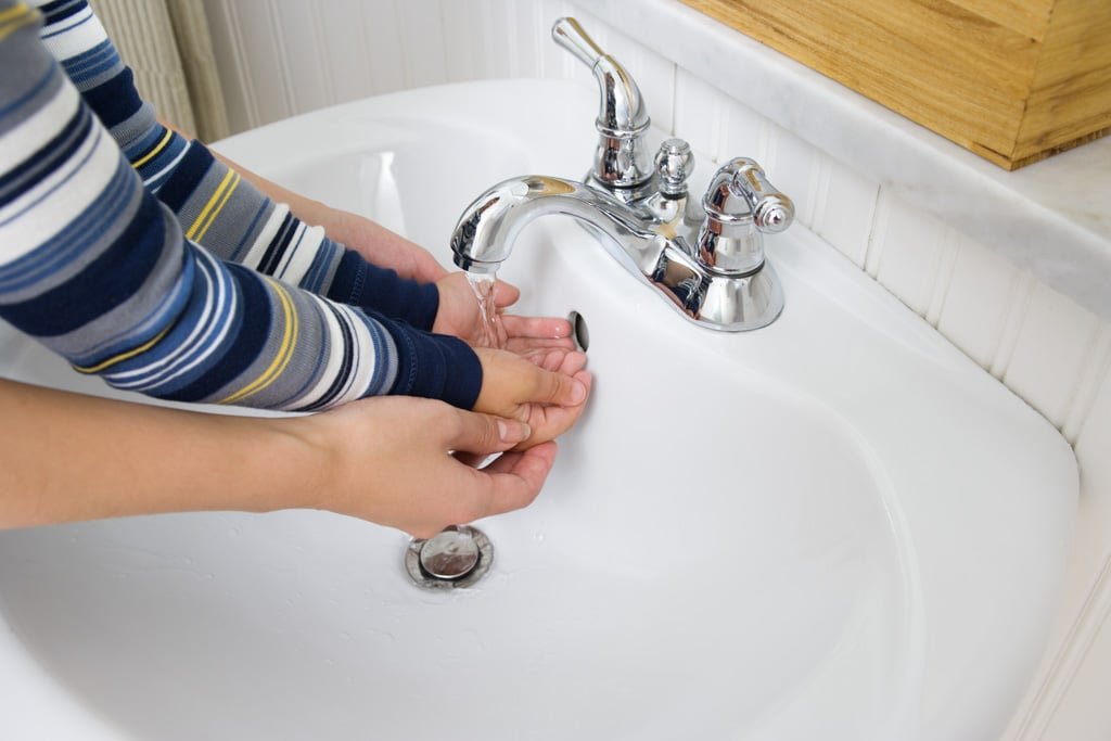 Wash Little Hands For at Least 20 Seconds
