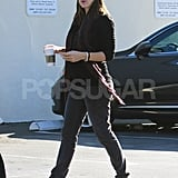 Jennifer Garner Takes a Solo Stroll While Butter Costar Hugh Jackman Shares Their Embarrassing On-Set Moment