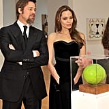 Photos of Angelina Jolie and Brad Pitt at MOCA Event