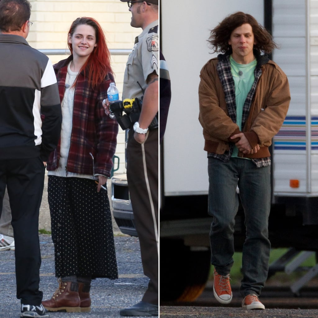 Kristen Stewart on the Set of American Ultra   Pictures