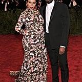 Kim Kardashian at the 2013 Met Gala