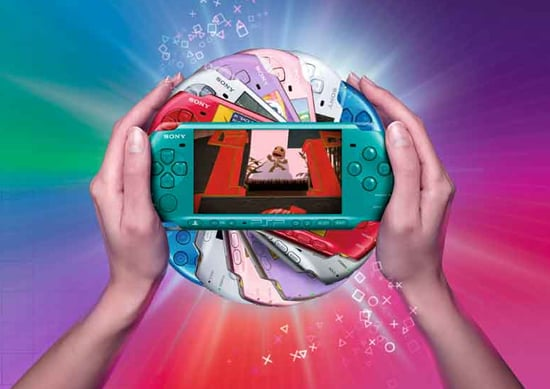 The PSP 3000 Is Coming Out in Pink and Turquoise
