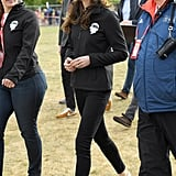 Kate Wore Superga Sneakers With Her All-Black Outfit
