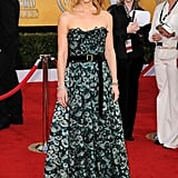 It's not easy to pull off a print on the red carpet, but Claire Danes did it with a little help from Louis Vuitton.