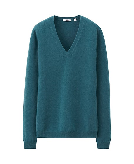 What's the fun of sweater weather if you don't have a little cashmere to cuddle up with? Enter the Uniqlo cashmere v-neck ($80), which comes in a dazzling array of colors, is incredibly soft, and — even better — is affordable.  — Robert Khederian, editorial assistant