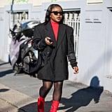 A Street Style Star With a Prada Bag