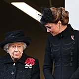The Royal Family at Remembrance Day Sunday Service 2019