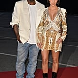 Kanye West Shows PDA With Kim and Jay-Z Dances to B's Music at Big Cannes Premiere