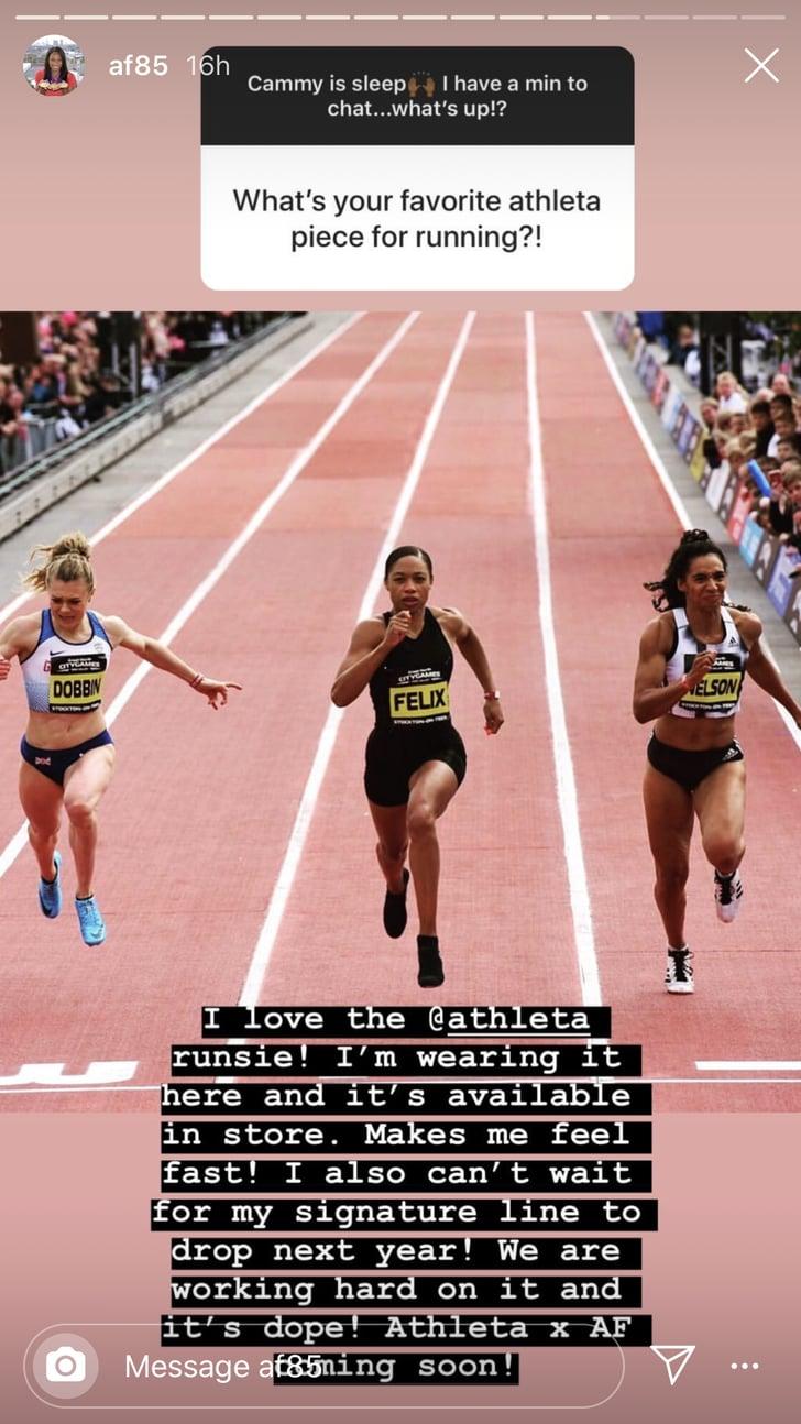 Allyson's Favorite Athleta Running Gear   Allyson Felix ...