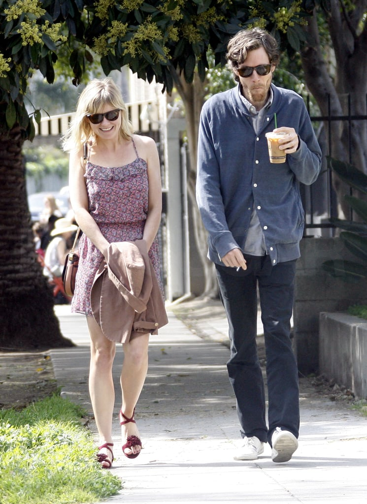 Kirsten Dunst Springs Forward at Lunch With Her Boyfriend Jason Boesel
