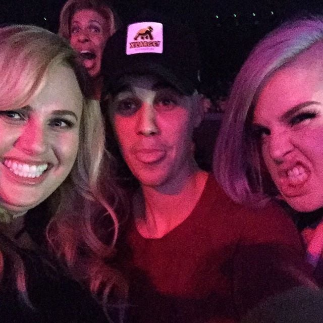 Rebel Wilson and Kelly Osbourne Hang Out With Justin Bieber