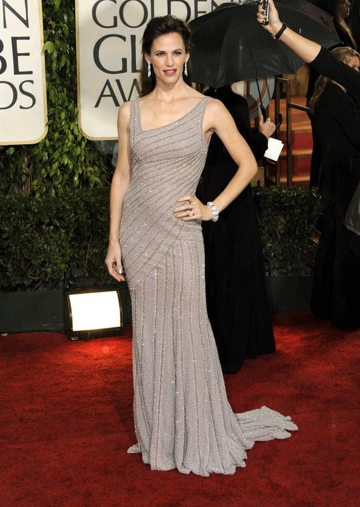 Jennifer Garner in Versace at the Golden Globe Awards