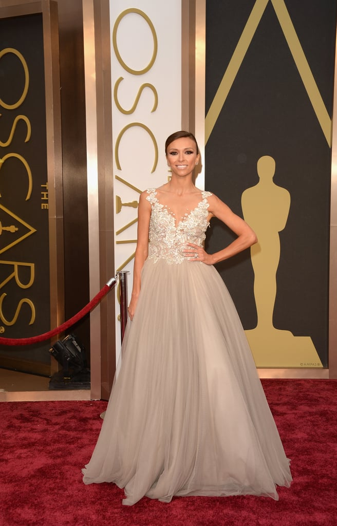 Giuliana Rancic at the 2014 Oscars