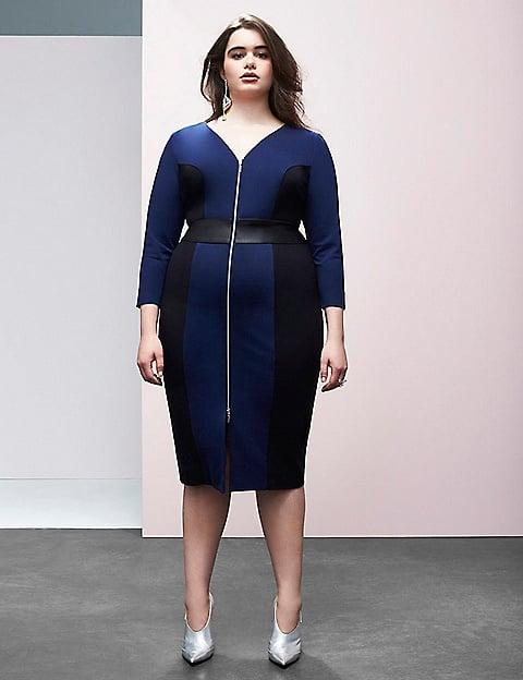 Zip-Front Sheath Dress ($138)