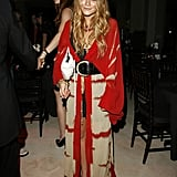 Go For Chunky Jewelry and Belt a Big Robe