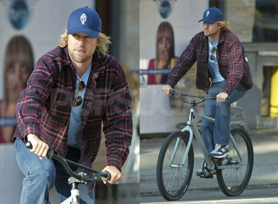 Owen Wilson's Out and About in NYC