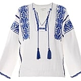 Etoile Isabel Marant Vince embroidered blouse ($310)