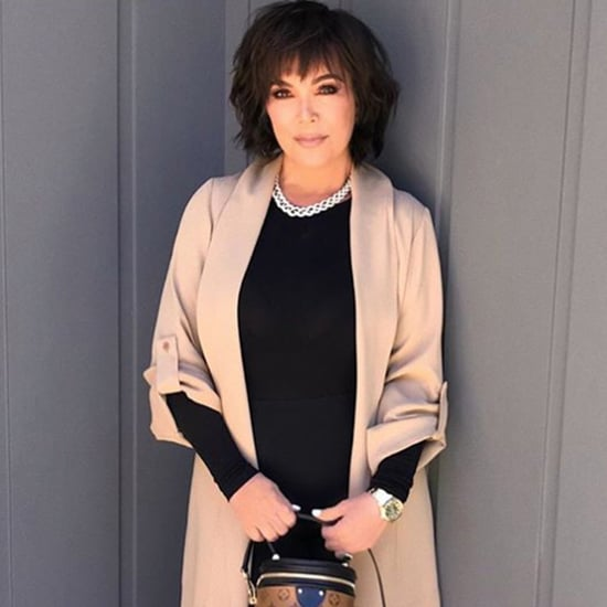 Kris Jenner Hair February 2019