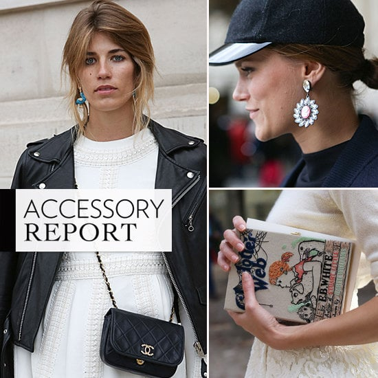 The street style stars wouldn't be complete without their fabulous accessories. Here are the best bags, jewels, and shoes.