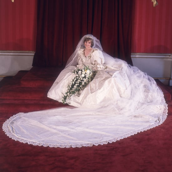 Princess Diana's Wedding Dress Display at Kensington Palace