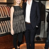 Natalia Vodianova and Antoine Arnault at Berluti's Madison Avenue store opening.