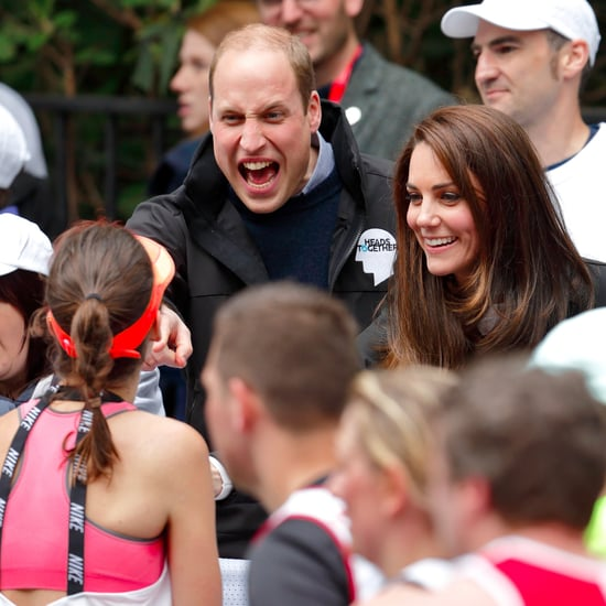 Prince William at 2017 London Marathon Pictures