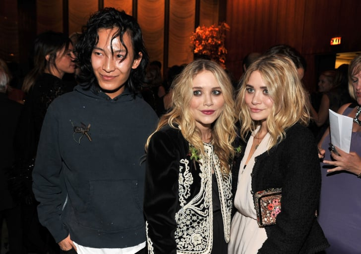 Alexander Wang with Mary-Kate and Ashley Olsen