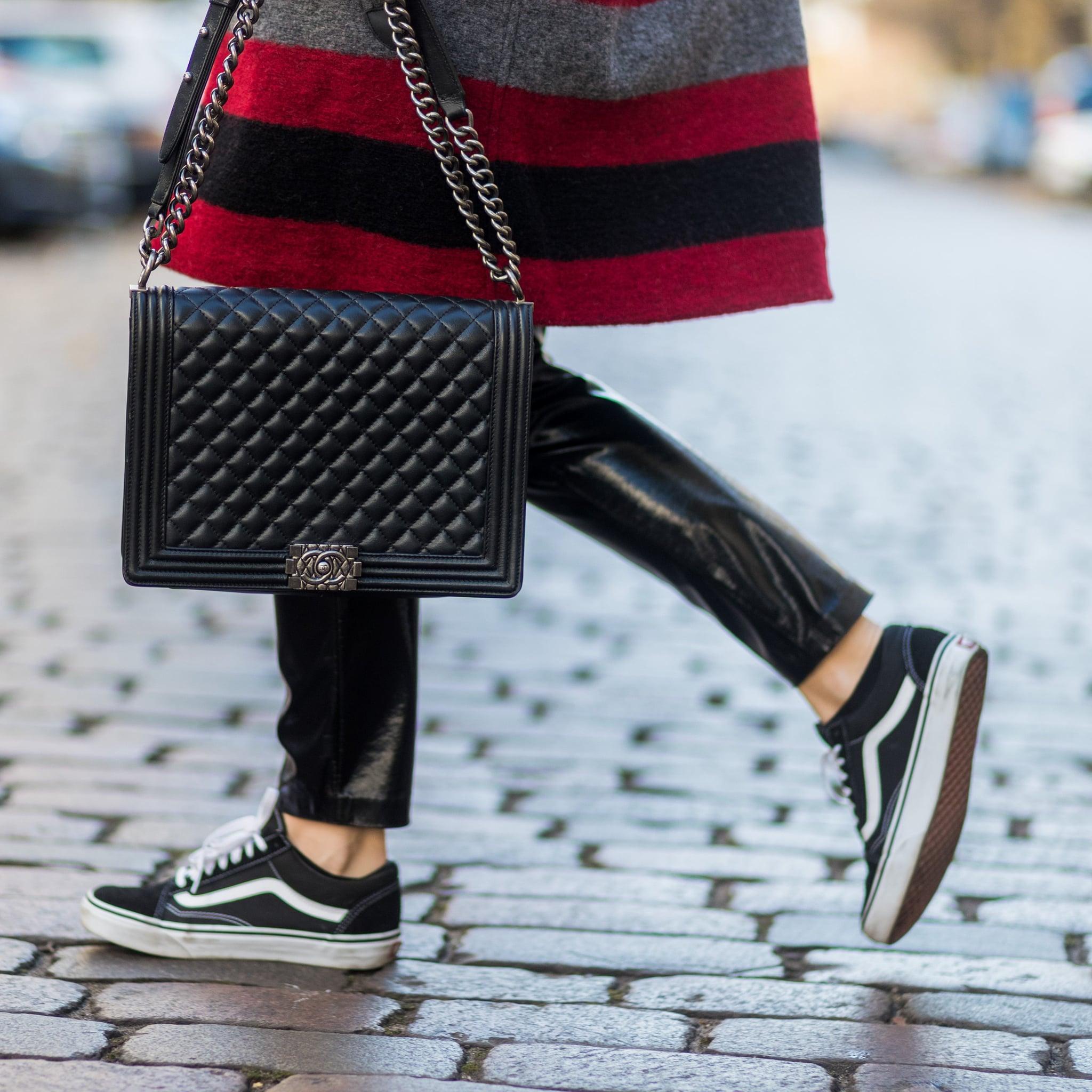 carrera calculadora Buen sentimiento  How to Wear Vans Sneakers | POPSUGAR Fashion Australia