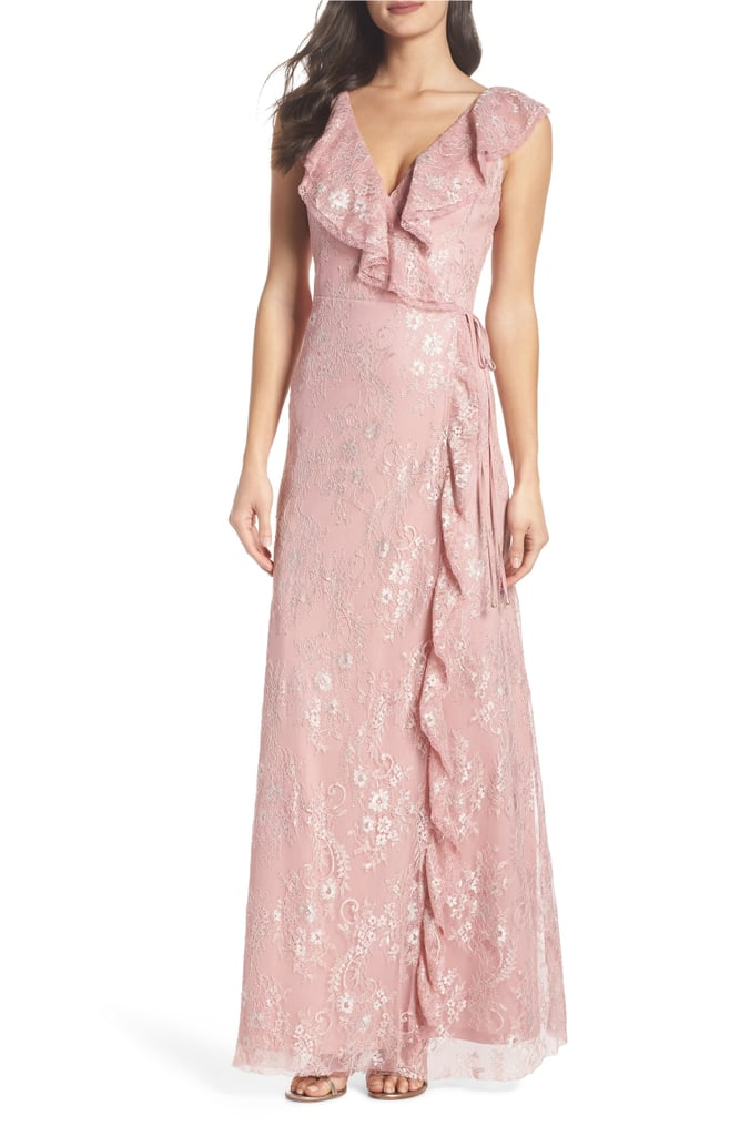 Rio Ruffle Lace Wrap Gown | Best Bridesmaid Dresses at Nordstrom ...